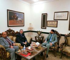 الدكتور كمال البصري يلتقي مع رئيس هيئة النزاهة الدكتور حسن الياسري